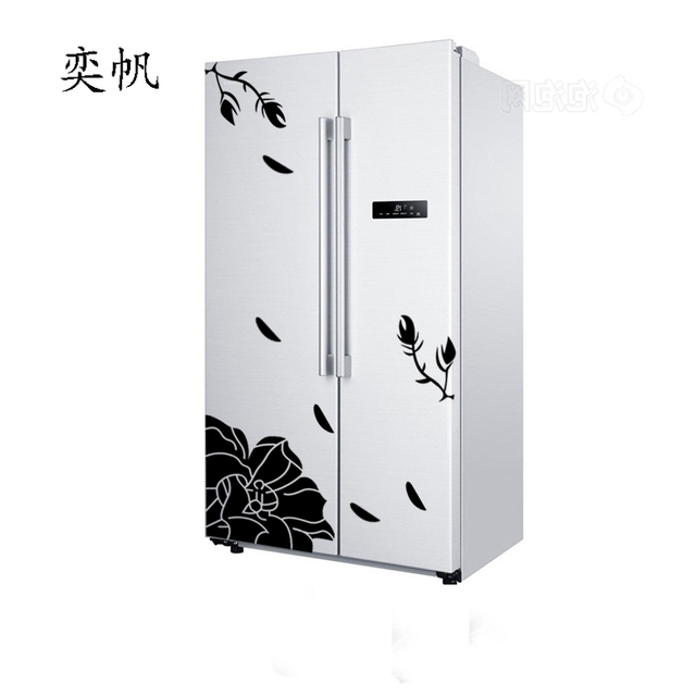 Creative Refrigerator Butterfly Pattern Sticker 8