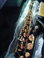 Высококачественный черный тенор саксофон профессиональный уровень B STS 54 Золотые Ключи Саксофон музыка инструмент саксофон идеальный звук
