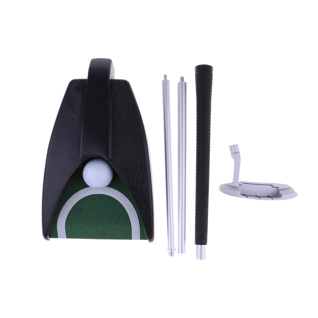 Perfeclan Mini Portable Golf Putter Gift Set Office Indoor Home Travel Golf