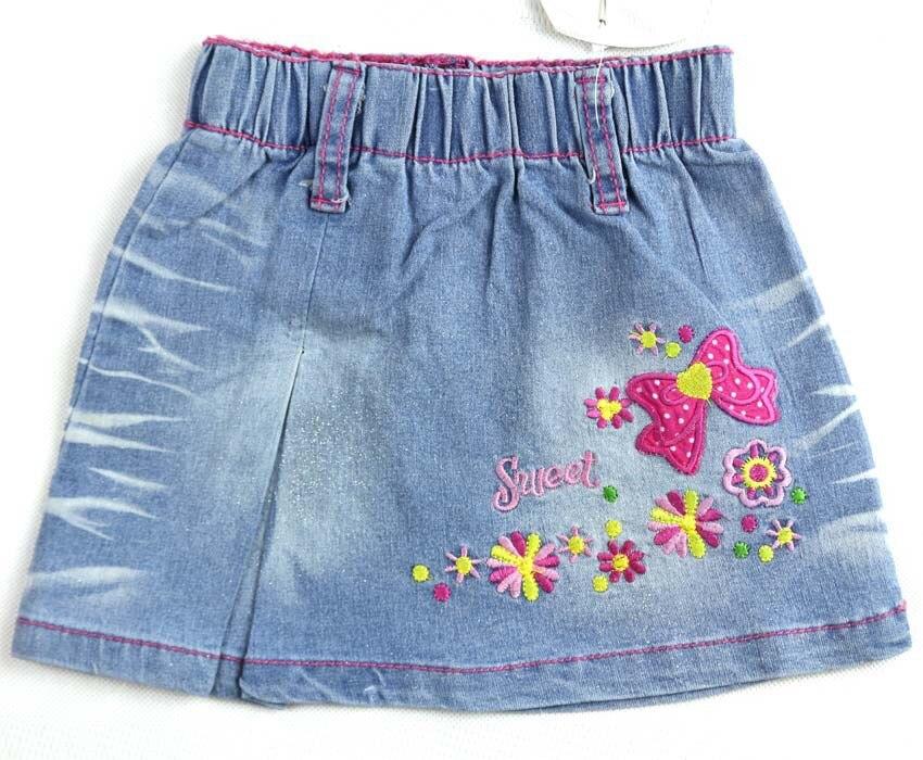 Вышивка детских юбок