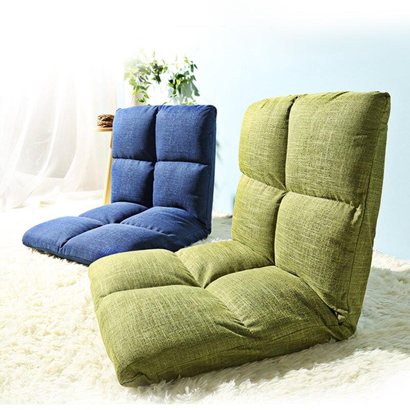 Хит продаж Новое поступление утолщенной погремушка японский стиль минималистский современный складной татами кровать стул ленивый диван
