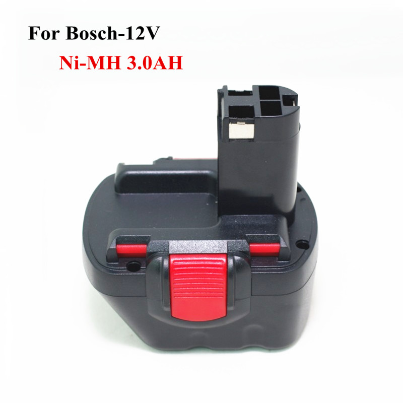 For Bosch 12v 3000mah NI-MH Rechargeable Replacement Cordless Drill Battery BAT043,BAT046,BAT049,BAT120,BAT139 PSR PSR 12V 3.0Ah for bosch gsr 12v gli 12v ahs gsb gsr psr 12 12ve battery 1 5ah ni cd bat043 bat045 bat046 bat049 bat120 bat139 26073 35555