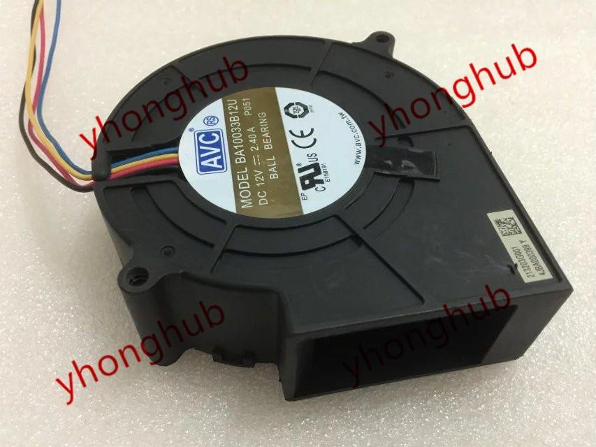 AVC BA10033B12U P051 DC 12V 2.4A 90x90x33mm Server - Square Fan