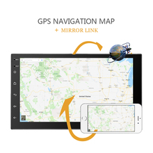 Autoradio 2 din Android 8.0 universelle autoradio 7 «gps android 2din Voiture MP5 Lecteur GPS NAVIGATION WIFI Bluetooth pas de lecteur dvd