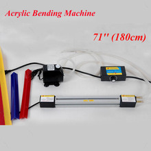 "1 Set 71""(180cm) Acrylic Bending Machine Plexiglass PVC Plastic Board Bending Device Advertising Signs and Light Box"