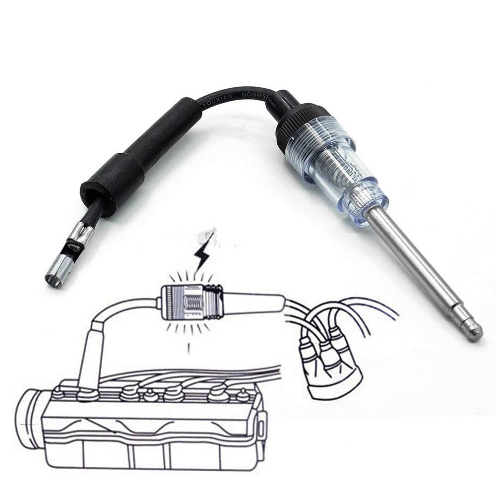 Зажигание розеточный Тестер Система зажигания онлайн обмотки двигателя авто инструменты для диагностики Прямая поставка Фирменная Новинка