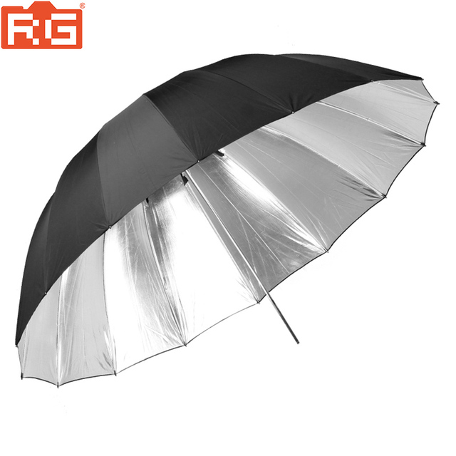 "Godox 150cm 60"" Inch Black and silver Umbrella Photography studio umbrella For Is helpful in professional studio shooting"