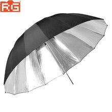 Godox 150cm 60 pulgadas paraguas negro y plateado paraguas de estudio de fotografía para es útil en la grabación de estudio profesional