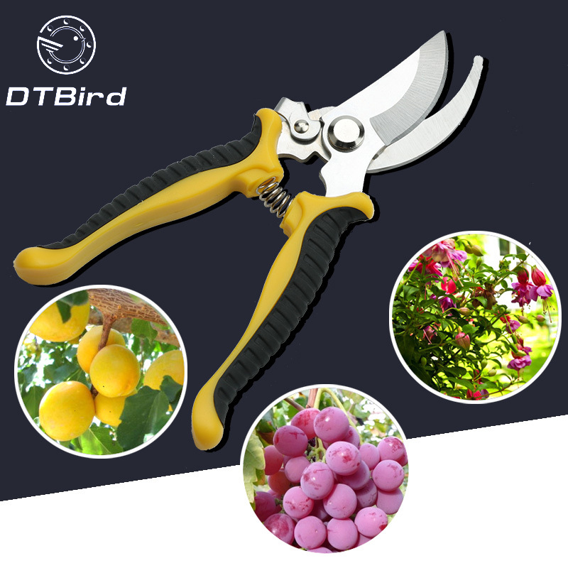Garden Tools Pruning Shear Tree Flower Fruit Branch Pruning Gardening Scissors Multifunctional Labor-saving Pruner Cutting Tool