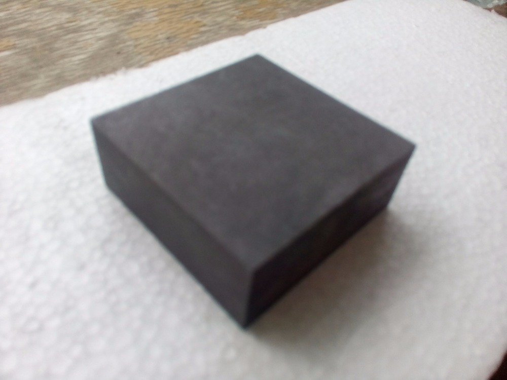 100x50x50mm High Strength Carbon Graphite Block Plate
