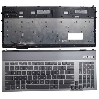 US FOR ASUS G55 G57 G55VW G55V G57V G57VW G57J G57JK Replace laptop keyboard gray New English