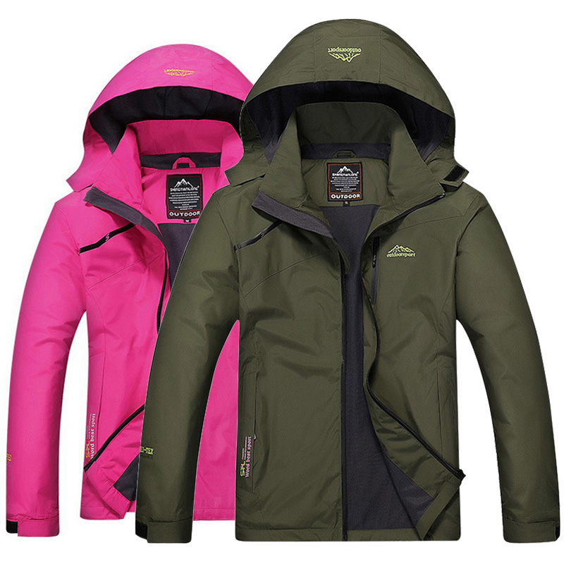 Spring Men Women Waterproof Jacket Trekking Camping Rain Coat font b Fishing b font Travel Windbreaker