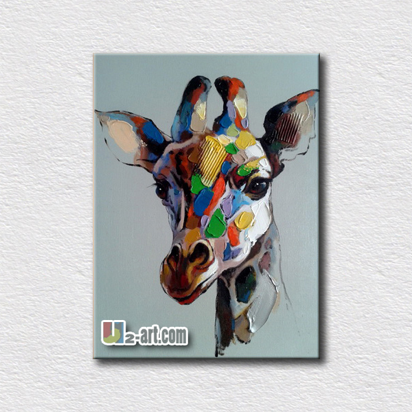 Animal picture reproduction oil painting for modern home decoration high quality canvas oil artsAnimal picture reproduction oil painting for modern home decoration high quality canvas oil arts