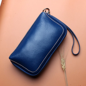 Image 3 - 6 couleurs mode femme sac à main 100% en cuir véritable excellente qualité pochette pour femmes sac Style européen et américain bracelets sacs