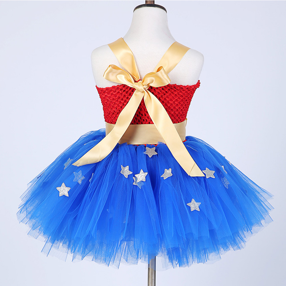 New Girls fancy Dress Wonder Woman cosplay disfraz para niños niños - Disfraces - foto 4