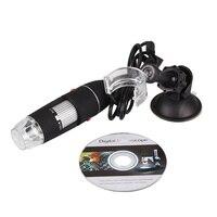 Portable Professional 1000X USB Microscope Electric Handheld Microscope Suction