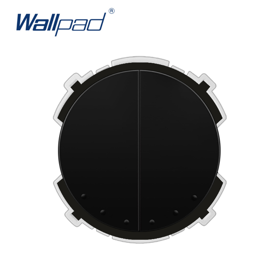 Wallpad 2 Gang Intermediate Wall Light Switch Function Key Only Free Combination