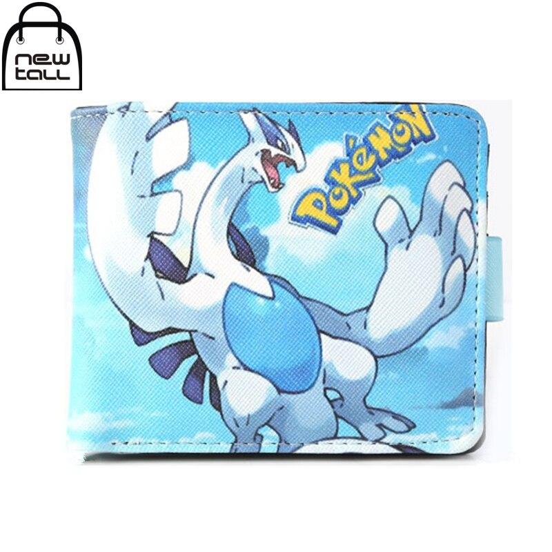 [NEWTALL] Anime Pokemon Pocket Monster Lugia Pattern Bifold Wallet Coin Purse Card Holder 16081742