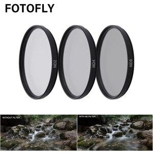 Image 3 - FOTOFLY filtro de cámara de acción para Yi 4K Lite UV CPL ND 2 4 8, filtros de lente de protección para Xiao Yi 4K + Plus, accesorios de cámara deportiva