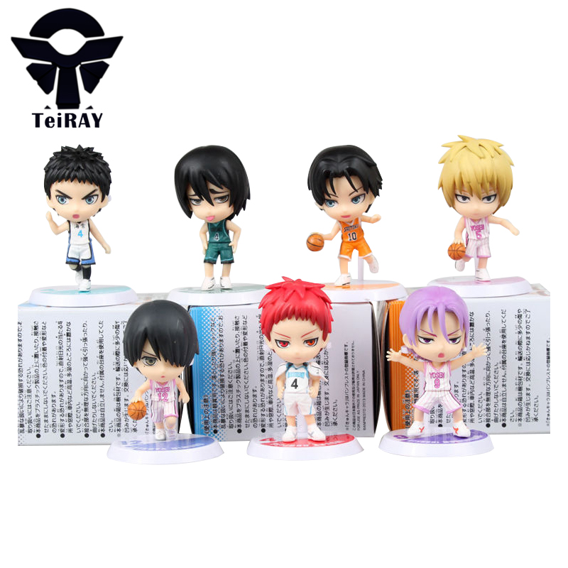 Japan Anime figurines Kuroko no basket Tetsuya Kuroko kise Ryota pvc action figure toys doll for children boy gift 2.4 6cm