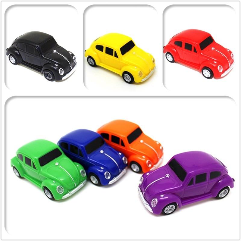 Hot Creative Beetle Car U Disk 4GB 8GB 16GB 32GB Pendrive Mini Cooper Usb Flash Drive Memory Stick 64GB Pen Drive Classic Car