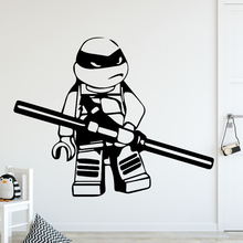 Free Shipping Diy Mutant Ninja Turtles Home Decor Wall Stickers For kids Room Removable Wall Art Decal Home Decoration Mural цена