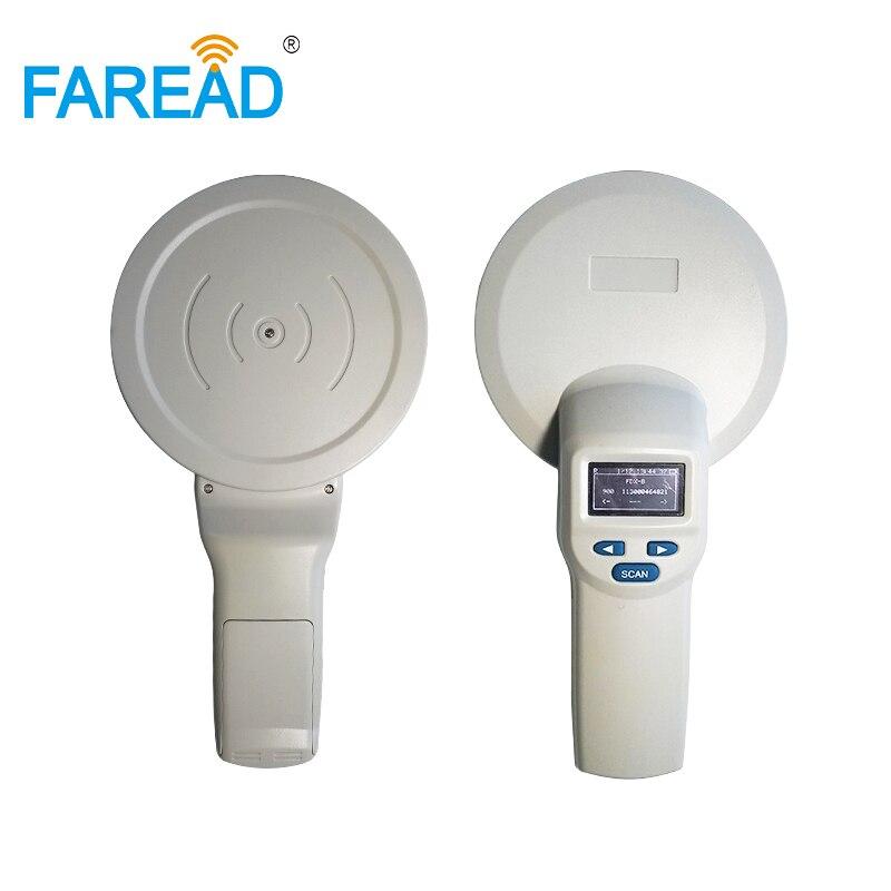 RFID ПЭТ сканер/reader 134,2 кГц 125 кГц для LF животное ID Идентификация портативный FDX B ISO11784/5 USB и Bluetooth (опционально)