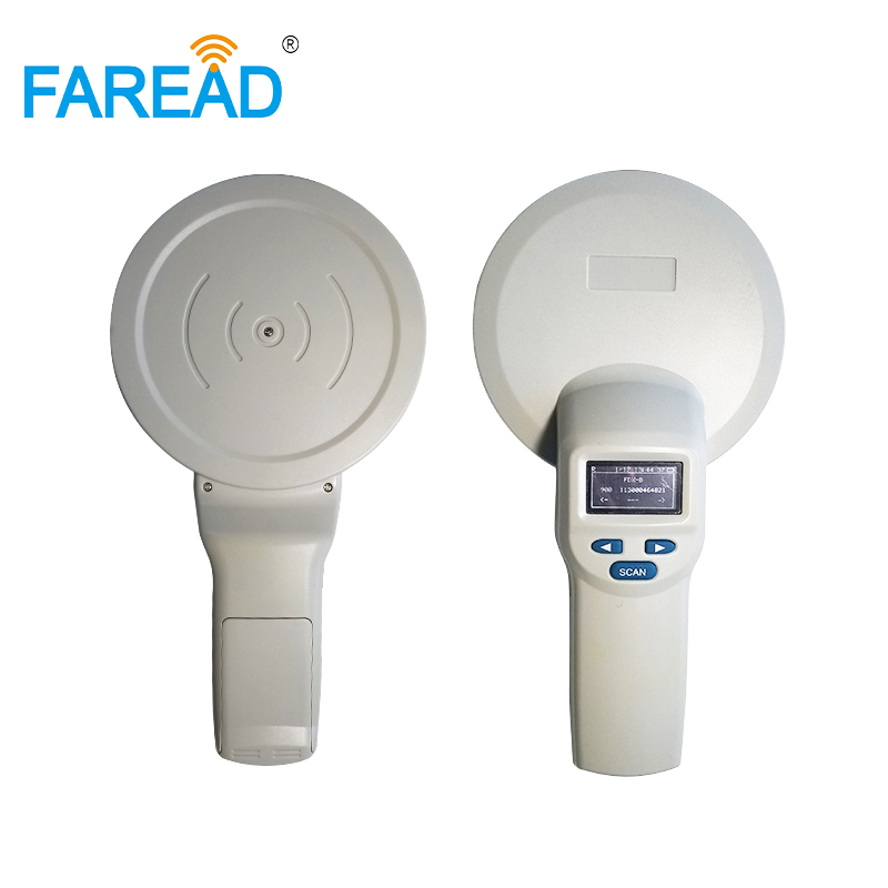 RFID Pet Scanner/reader 134.2khz 125khz For LF Animal ID Identification Portable FDX-B ISO11784/5 USB And Bluetooth (optional)