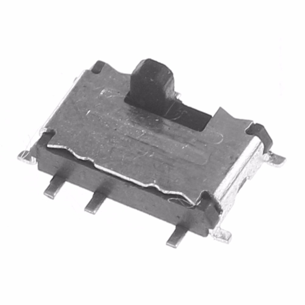 10Pcs SMD MSS-22C02(2P2T) 10-Pin Slide Switch For DIY Electronic Accessories-L060 New hot