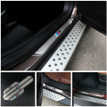 Car door sill ///M LOGO door plate guards For BMW X1 E84 X3 E83 E70 X6 E71 E72 2008-2012 4PCS/SET