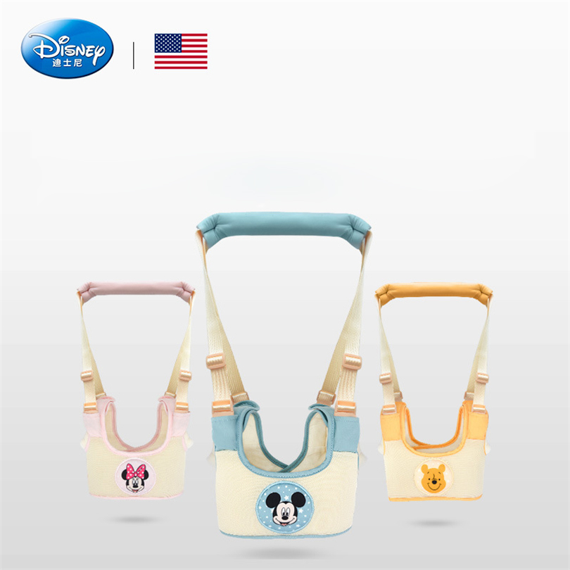 Disney Genuine Cute Baby Toddler Walk Toddler Safety Harness Assistant Walk Learning Walking Adjustable Strap Walking Belt yourhope baby toddler harness safety learning walking assistant blue