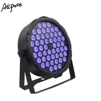 54x3W UV Light 54*3w UV Led Par lights Wall Washer Disco Light DMX Controll Stage Lighting