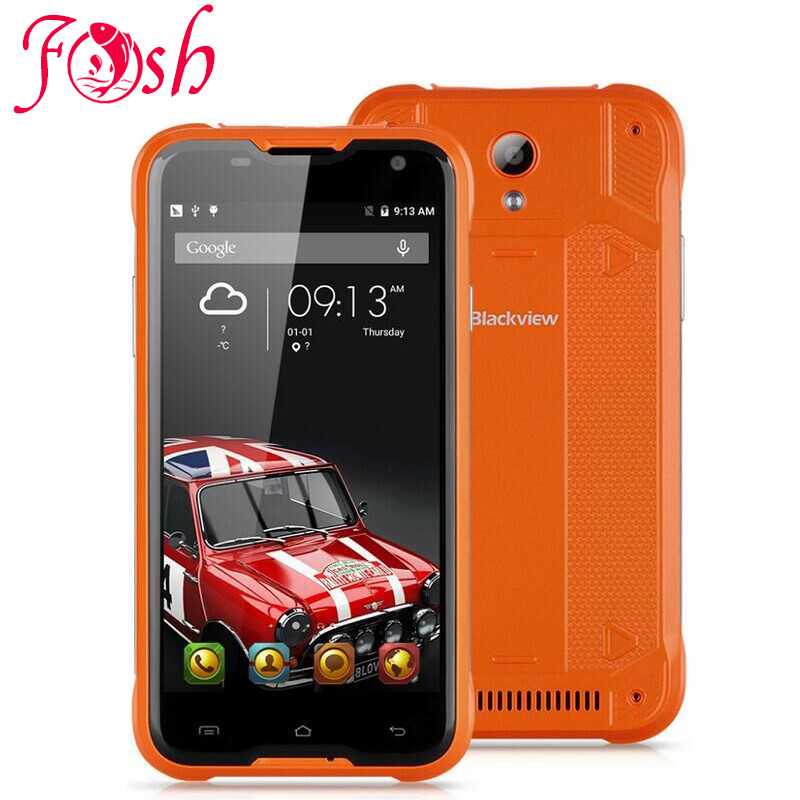Original Blackview BV5000 4G LTE Waterproof MTK6735 5 HD Quad Core Android 5 1 Mobile Cell