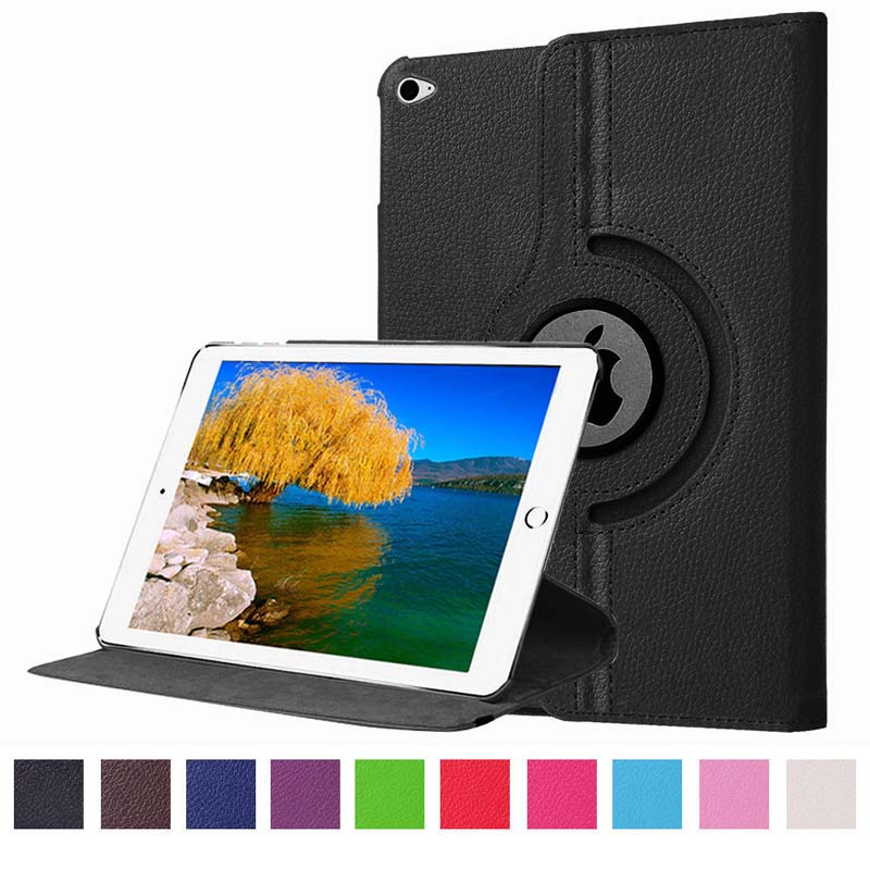 Rotary 360 Degree Rotating Litchi Grain Flip Stand PU Leather Skin Protective Case Cover For Apple Ipad Pro 12.9 inch Tablet  fineshow for ipad pro 9 7 inch tablet case 360 rotating fashion pu leather flip case folio stand screen protective smart cover