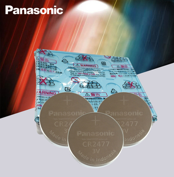 50PCS/LOT Genuine Panasonic CR2477 3V CR 2477 High Performance High Temperature Resistant Button Coin Battery Cell Batteries