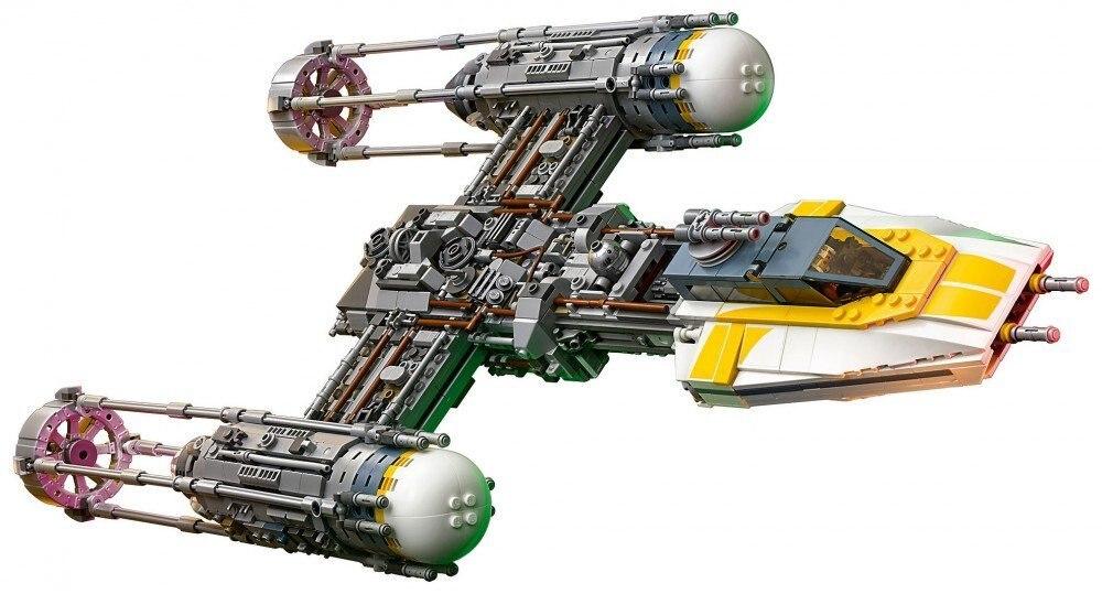 05151 star wars traição na cidade da nuvem 05143 y-wing lutador modelo blocos de construção tijolos brinquedos compatíveis com legoed 75181 75222