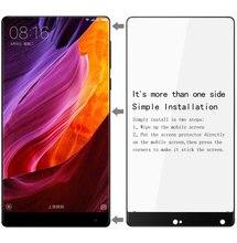 Оригинал iMAK Анти-Взрыв Полный Протектор Экрана Для Xiaomi Mi Смешивания Закаленное Протектор Экрана Стекло Для Xiaomi Mi Mix Чехол