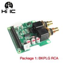 I2S HiFi DAC Digital Audio Soundkarte ES9023 Erweiterungskarte Decodierung Bord Encoder für Raspberry pi3 pi2 B +
