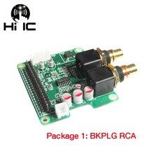 I2S HiFi ES9023 DAC Scheda Audio Digitale Scheda di Espansione Scheda di Decodifica Encoder per Lampone pi2 pi3 B +