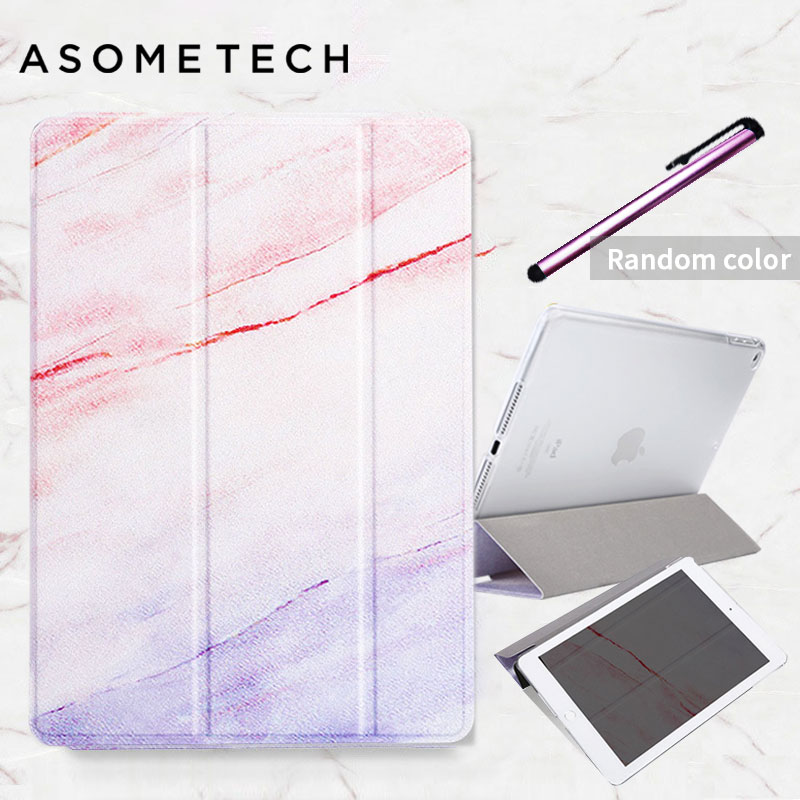 For Apple ipad 5 air 1 air 2 Gradient Marble Flip PU Case shockproof Magnetic Folio tablets Cover for new ipad 9.7 Mini 1 2 3 4 цена 2017