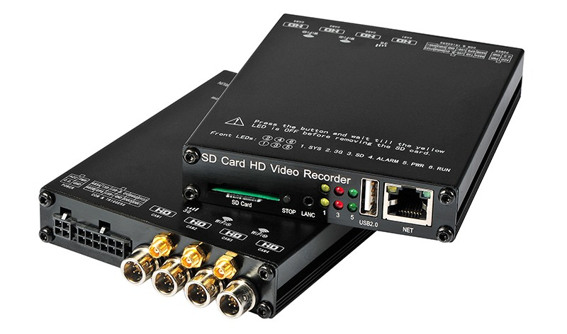 DVR front and back panel-s