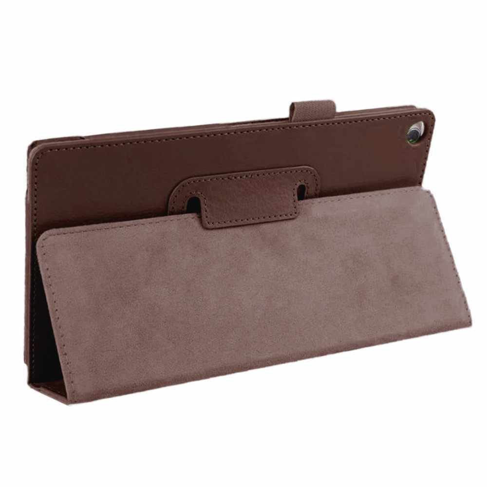 רשמי המקורי באיכות גבוהה Ultra Slim עור מפוצל מקרה Stand כיסוי עבור 8 אינץ ASUS ZenPad 8.0 Z380C Z380KL Tablet # ZS