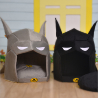 Super Hero Dog House Pet Cat Bed House For Small Medium Dogs Cat Pet Warm Puppy Bed Chihuahua Totoro Bed Dog Mat Cat Kennel
