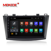 Wholesale! HD 1024 capacitve touch screen android 7.1 sytsem car dvd player for Mazda 3 Axela 2009 2012 support 4G SIM wifi BT