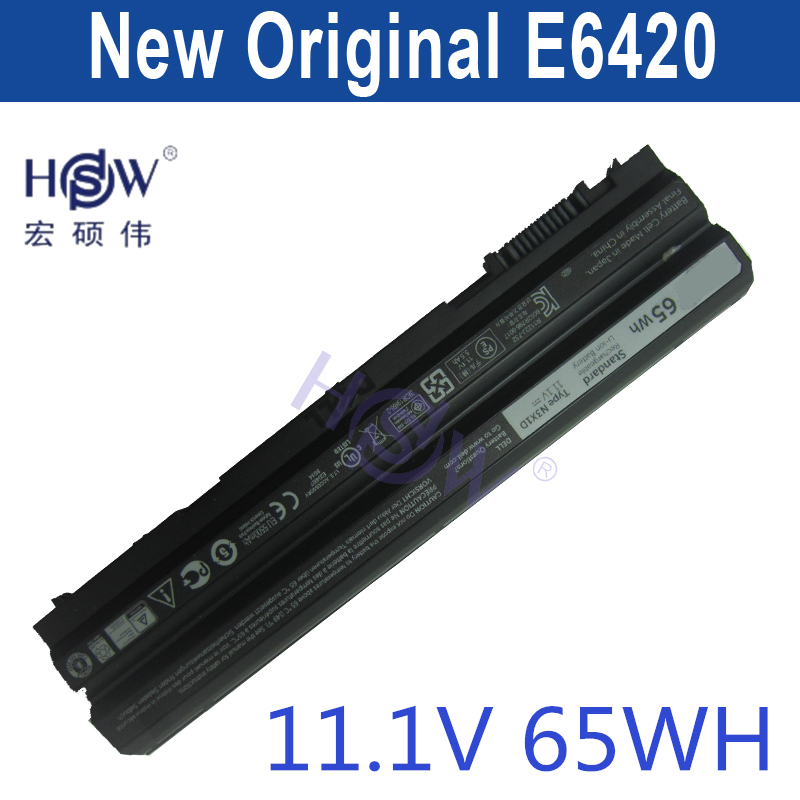HSW Battery For Dell Latitude E5420 E5420m E5520 E5530 E6430 E6520 E5430 E5520m E6420 E6530 E6440 For Inspiron 14R 15R цены онлайн