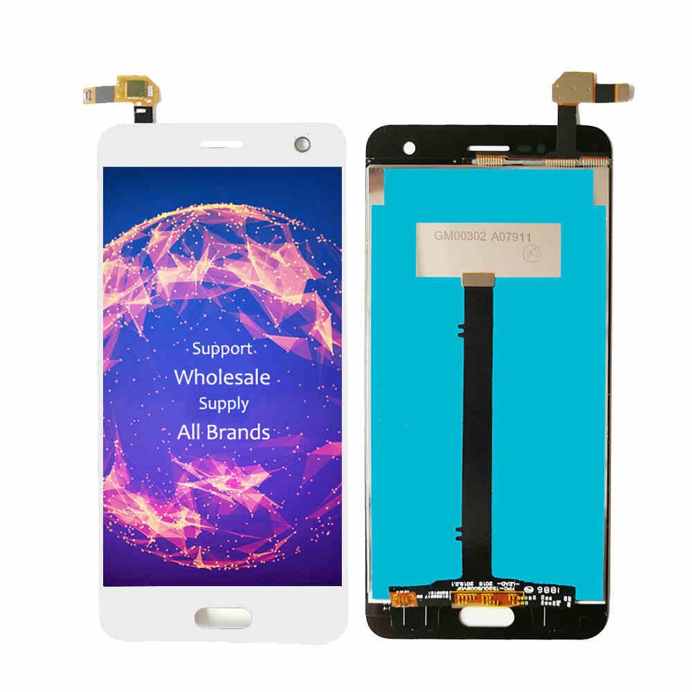 Image 5 - Полный ЖК дисплей для ZTE Blade V8 LCD BV0800 дисплей экран с рамкой сенсорный датчик дигитайзер сборка для ZTE V8 V 8 дисплей AAAqualityЭкраны для мобильных телефонов   -