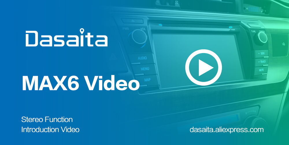"Discount Dasaita 1 Din 8"" IPS Android 9.0 Car Radio for Toyota Corolla 2009 2010 2011 2012 2013 DSP Bluetooth GPS 4GB RAM 5"