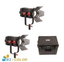 2 قطعة CAME TV بولتزن 100 واط فريسنل فوكوسابل LED ثنائي اللون عدة Led الفيديو الضوئي