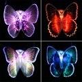 Caliente colorida romántica LED mariposa noche luz de la noche del sitio del cabrito lámpara iluminación de interior Party la decoración del hogar regalo de la lámpara
