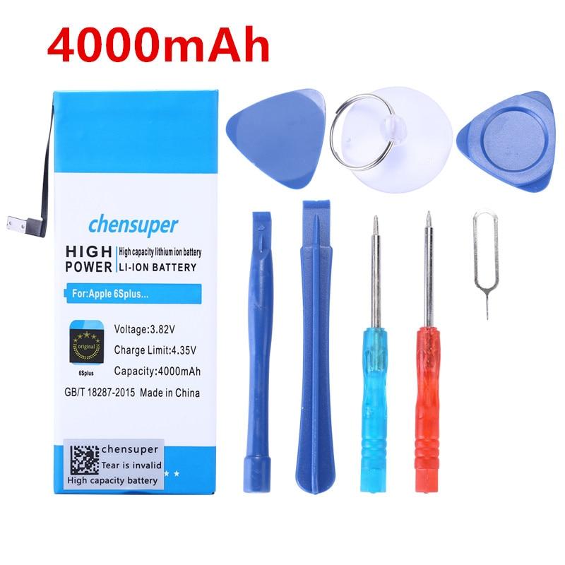 Chensuper Battery-4000mah Apple 6splus IPhone For IPhone/6s-plus/6splus/.. With Tools